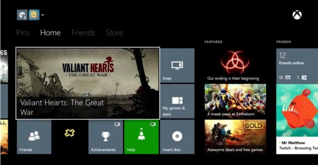Xbox August 2014 Update