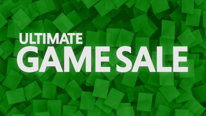 Xbox 360 Ultimate Game Sale is happening now