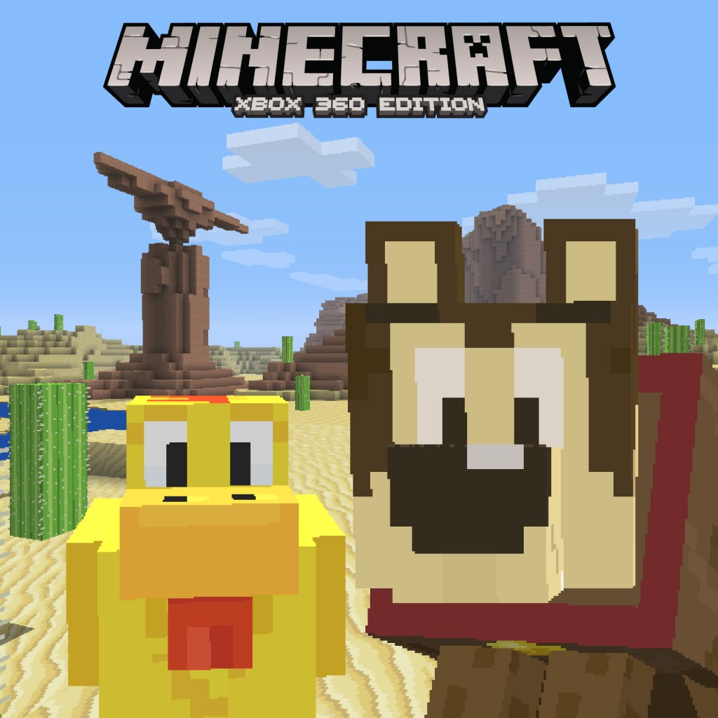 Minecraft Cartoon Texture Pack available now