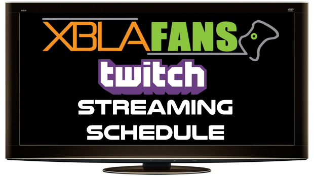 XBLAFans Twitch Schedule: Week of 8-18