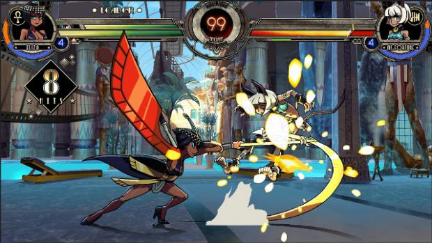 Skullgirls' Eliza Character DLC