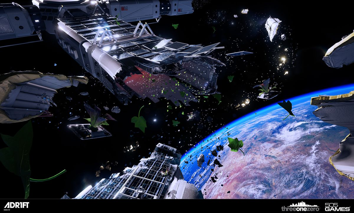 Take a first look at Adam Orth's outer space experience Adrift