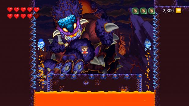 Adventures of Pip Screenshot 4 - Boss Fight
