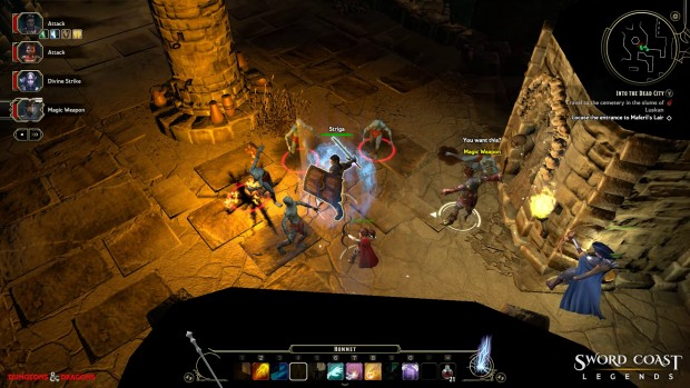 Sword Coast Legends Screen Shot 2