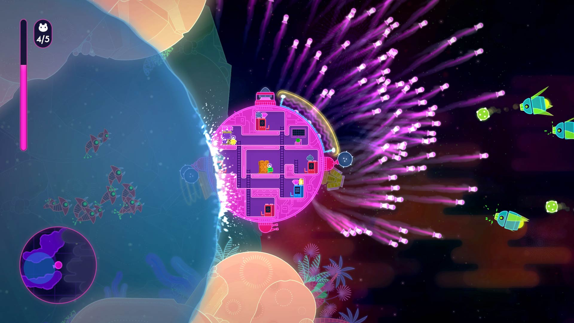 Lovers in a Dangerous Spacetime Xbox One review