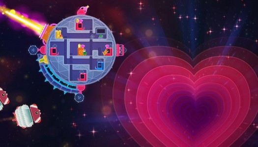 Lovers in a Dangerous Spacetime review: That's no moon, haters
