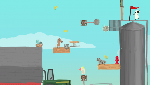 Ultimate Chicken Horse preview: The classic basketball game reimagined