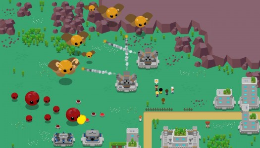 Kaiju Panic review: Tower defense on steroids