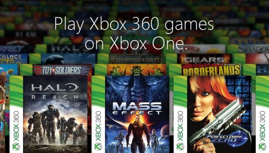Backward compatibility a big hit on Xbox One