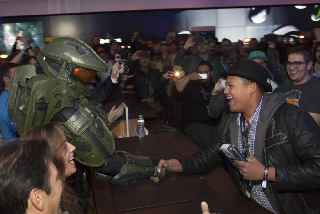 Halo5-Seattle-Launch