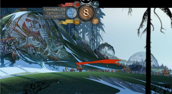The Banner Saga godstone