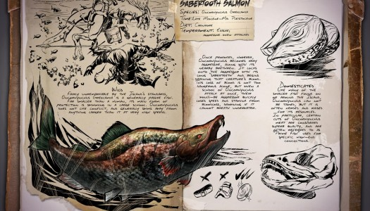 ARK: Survival Evolved's next creatures appear to be leeches and sabretooth salmon