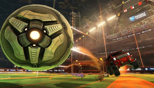Rocket League is out now for Xbox One