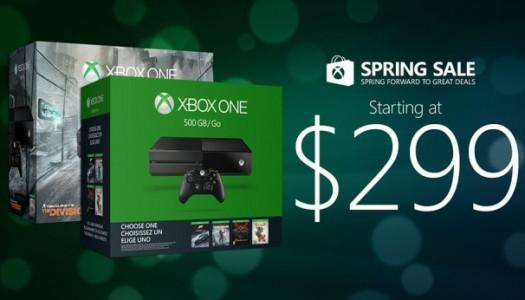 Microsoft's Spring Sale now fully underway
