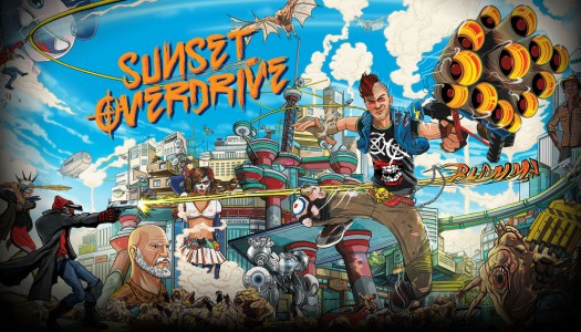 Sunset Overdrive and Dead Space headline Games with Gold for April