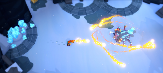 Mages of Mystralia fire spell