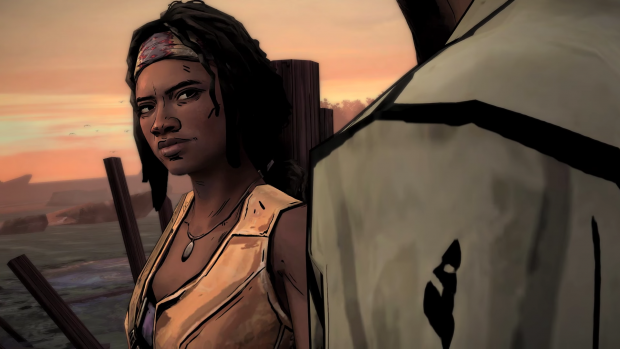 twd michonne smile
