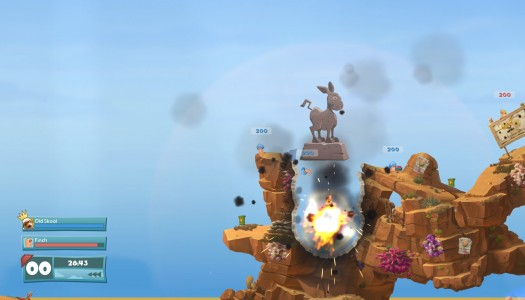 Worms W.M.D. to feature vehicles and a new crafting system