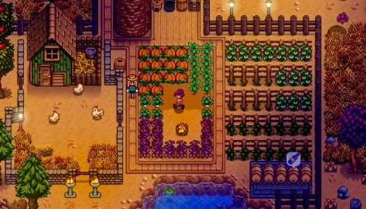 Stardew Valley setting up shop on December 14