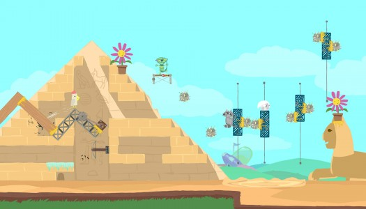 Another look at the party game Ultimate Chicken Horse