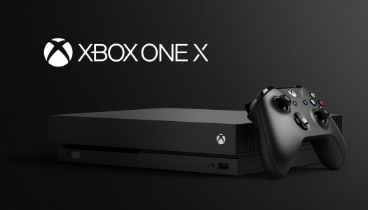 Xbox One X unveiled at E3