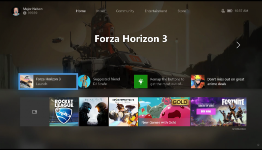 Xbox Rolling Out New Dashboard Update to Insider Participants