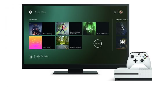 Spotify App Coming to Xbox One Today