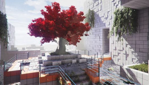 Early Gameplay of Environmental Puzzler Q.U.B.E. 2