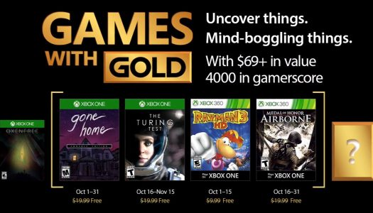 Gone Home starts off October Games with Gold