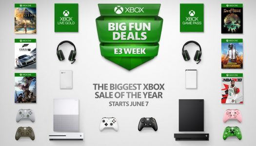Xbox E3 Sale: The biggest sale of the year on games, controllers and even the Xbox One X