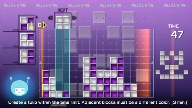 Lumines Remastered Puzzle Mode