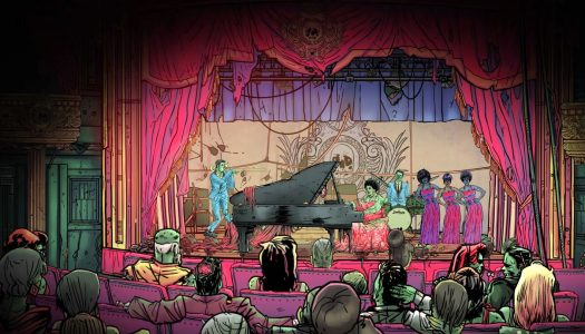 Wailing Heights Review: Point, Click and Rock 'n Roll
