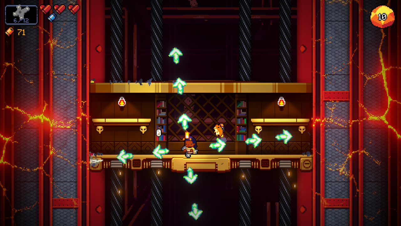 Exit the Gungeon review: war in an elevator