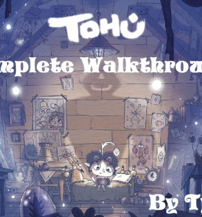 Tohu walkthrough cover art