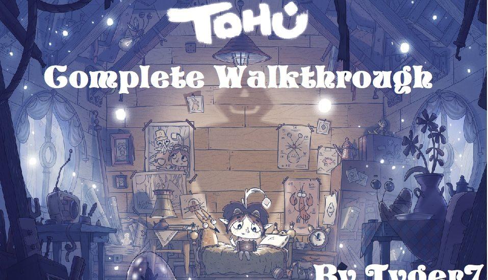 Tohu walkthrough cover art